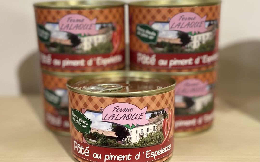 Pâté de Porc au Piment d'Espelette 250g