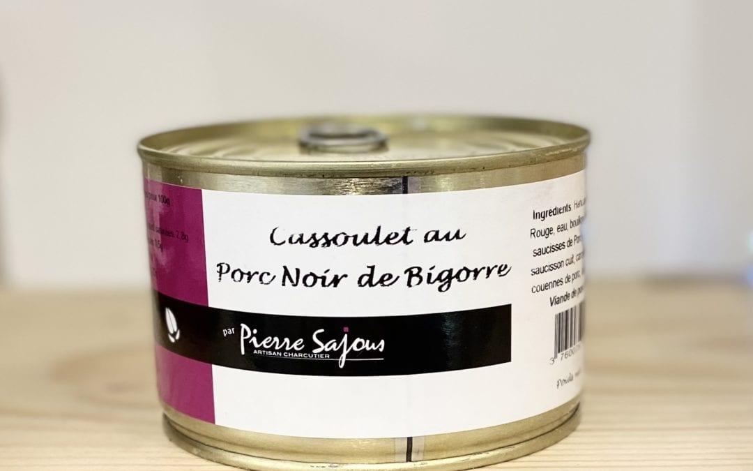 Cassoulet de Porc Noir de Bigorre 400g