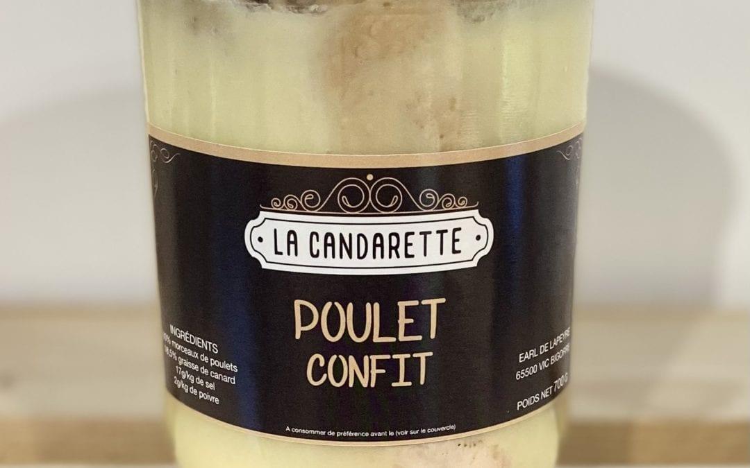 Poulet Confit 700g