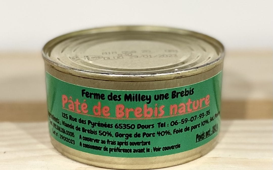 Pâté de Brebis 180g