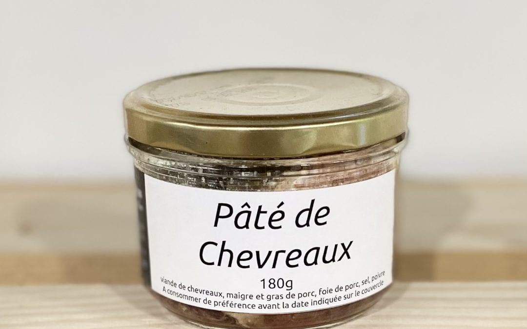 Pâté de Chevreaux 180g
