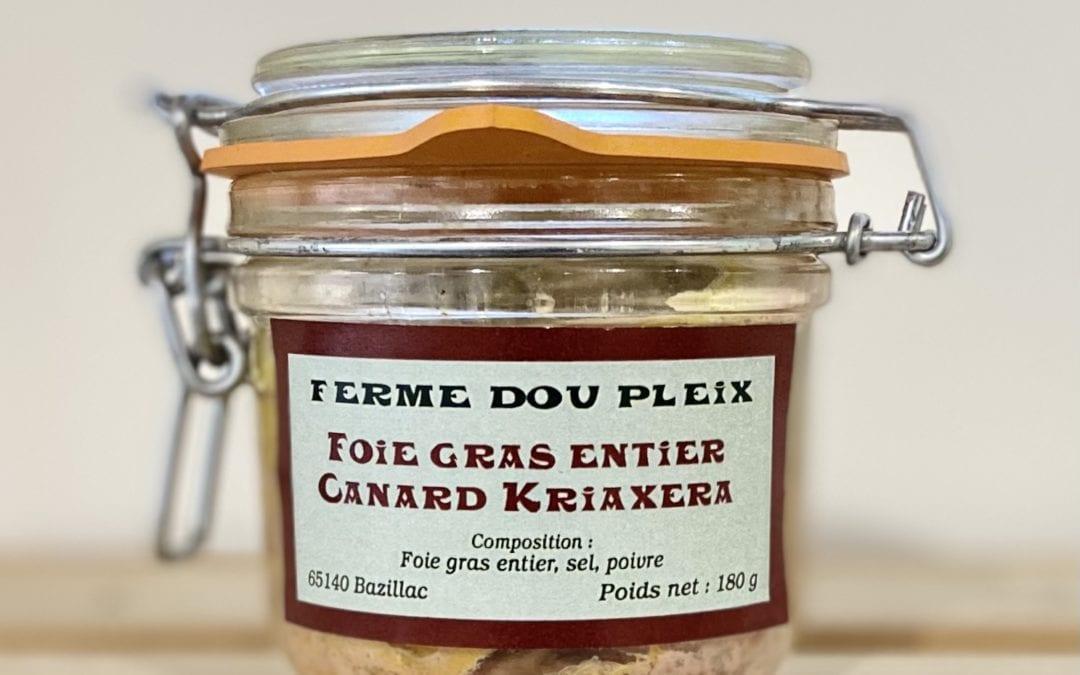 foie gras Kriaxera 180g