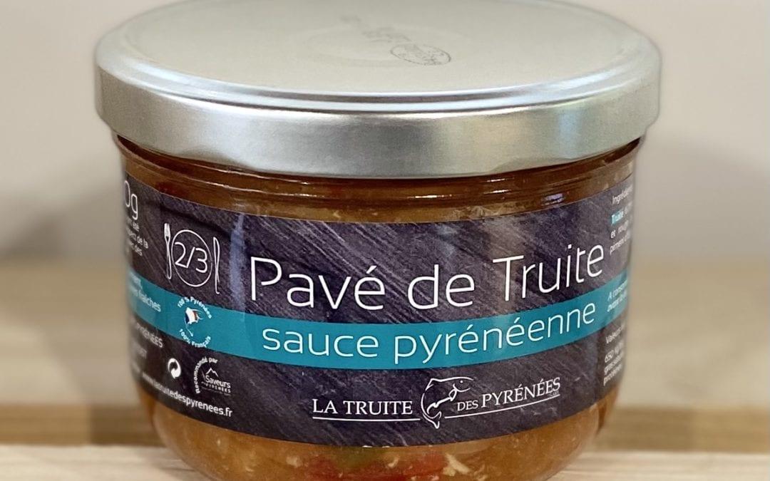 Pavé de truite sauce pyrénéenne 350g